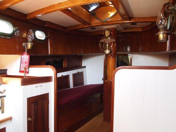 Gaff Cutter Yacht