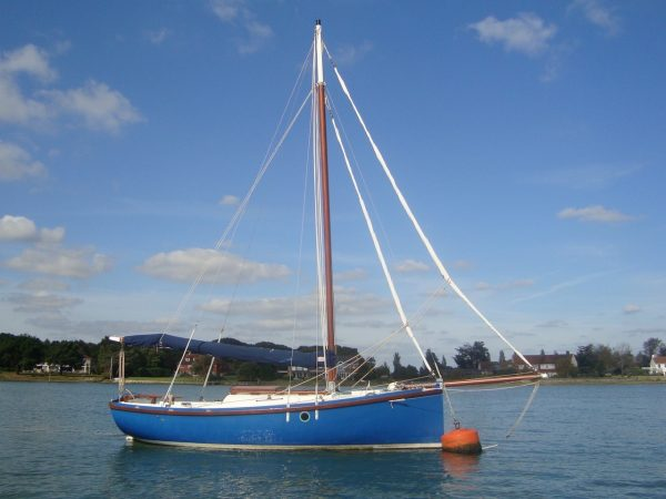 Golant Gaff Cutter For Sale 2 Berths Heads Galley