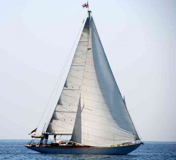 Sparkman & Stephens Sloop Sailing