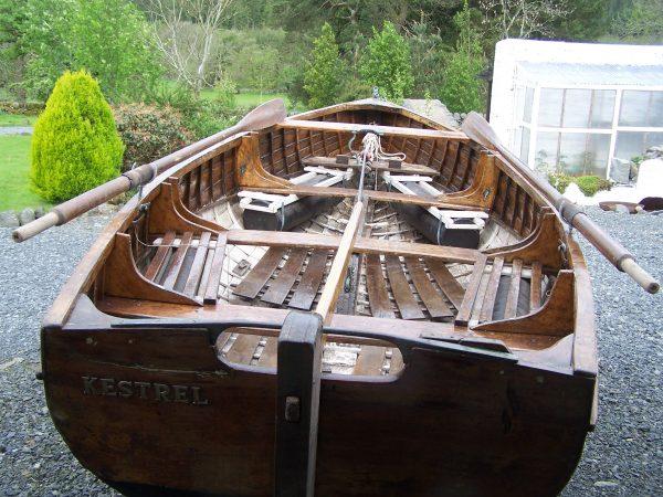 RNSA sailing dinghy