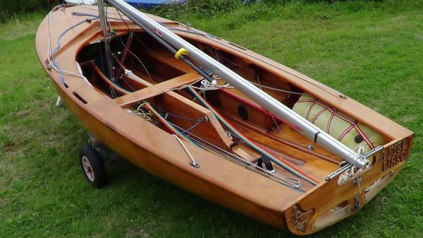 Uffa Fox 'Swordfish' sailing dinghy