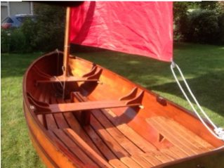 Ian Oughtred Puffin dinghy
