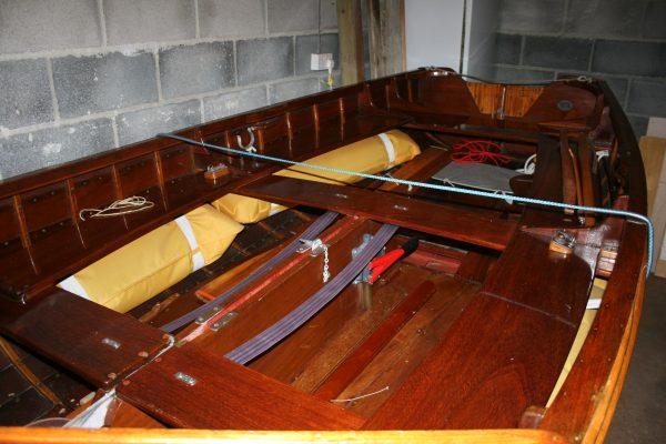 Edgar Cove RNSA sailing dinghy