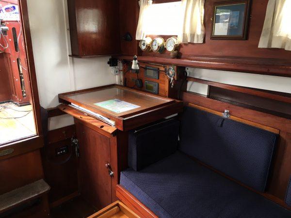 13 ton Hillyard sloop