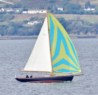 Starling Burgess Bermudan cutter Sailing