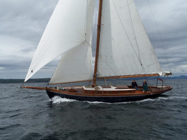 Starling Burgess Bermudan Cutter Wooden Sailing Yacht For Sale