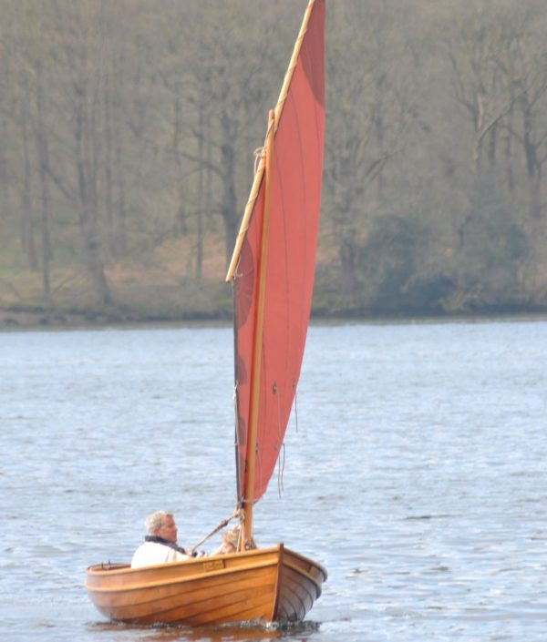 Ian Oughtred Shearwater sailing dinghy