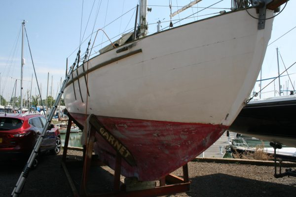 Colin Archer type bermudan cutter