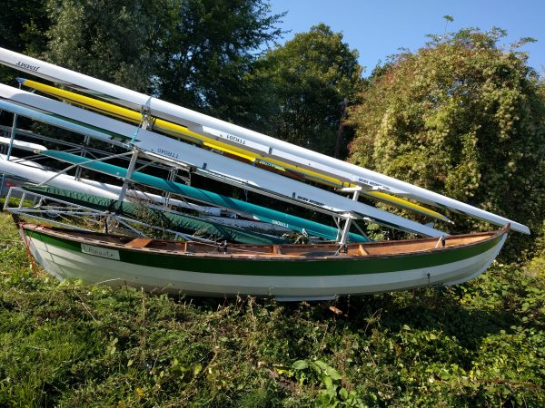 Ian Oughtred Sooty Tern Rowing Skiff