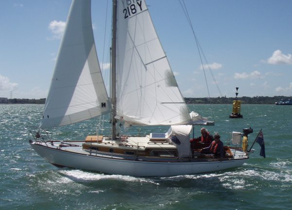 Kim Holman 26 Classic Wooden Sailing Yacht For Sale