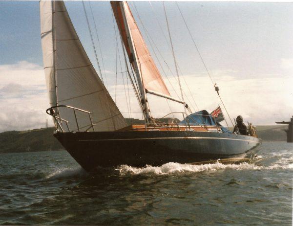 Alan Buchanan Bermudan Sloop
