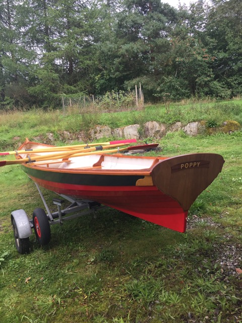 Acorn 15 rowing boat