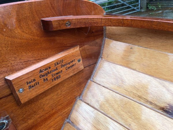 Ian Oughtred Acorn rowing dinghy
